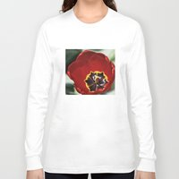 tulip Long Sleeve T-shirts featuring Tulip by Charlene McCoy