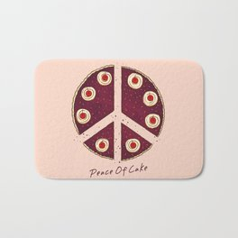 Peace of Cake Bath Mat