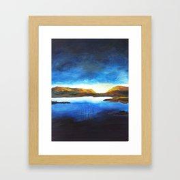 Penombre Framed Art Print