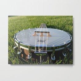 Banjo Uke 2 Metal Print