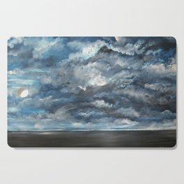 The Sun is Coming (Lista) by Gerlinde Cutting Board