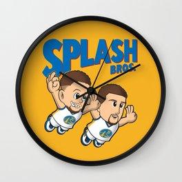 SPLASH BROS Wall Clock