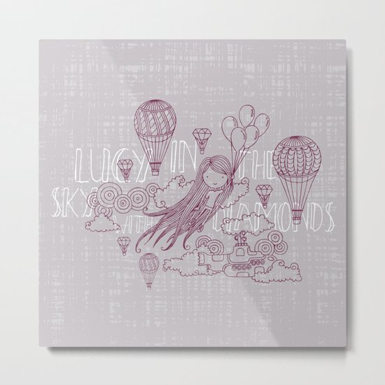 Lucy in the sky Metal Print