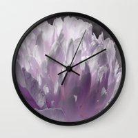 romance Wall Clocks featuring Romance by Lena Photo Art