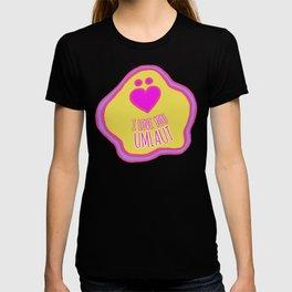'I Love You Umlaut' Valentine's Pattern - Neon & Bright T-shirt