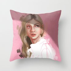 King and Queens Throw Pillow