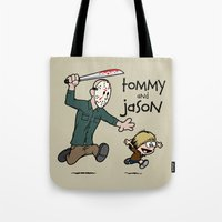 Tommy and Jason Tote Bag