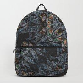 Purple Black Lime Design Backpack