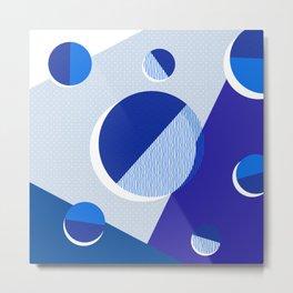 Japanese Patterns 02v Metal Print