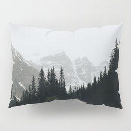 Moraine Lake Road Pillow Sham