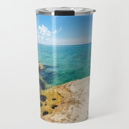 The Coves on Lake Superior - Pictured Rocks Travel Mug