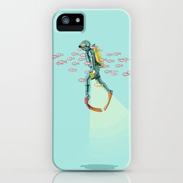 FLOAT - Under the sea iPhone Case