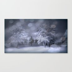 Thursday Winter's Night Canvas Print