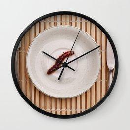 Altrntive food concept Wall Clock