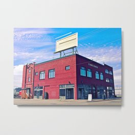 Historic Newbert building Metal Print