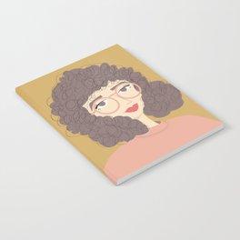 SALLY | Female Digital Illustration Notebook