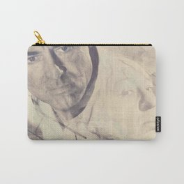 North by Northwest, Alfred Hitchcock, vintage movie poster, Cary Grant, minimalist Carry-All Pouch