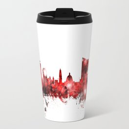 Cardiff Wales Skyline Travel Mug