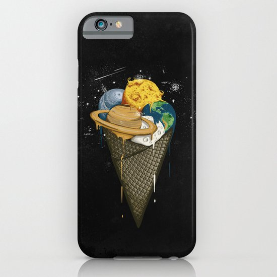 Galactic Ice Cream iPhone & iPod Case