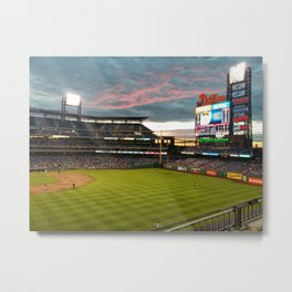 Citizens Bank Park Metal Print