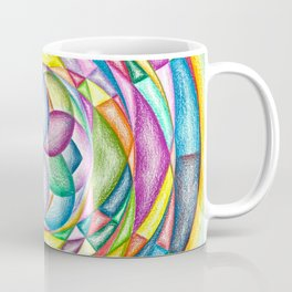 Vortex of Colors - The Rainbow Tribe Collection Coffee Mug