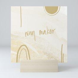 Way maker Mini Art Print