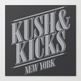 Kush & Kicks New York Canvas Print