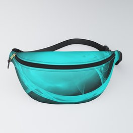 Through the glowing glass portal Fanny Pack