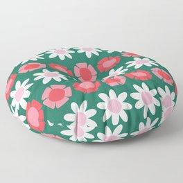 Peggy Green Floor Pillow