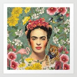 Frida Kahlo X Art Print