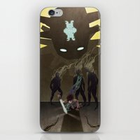 shadow of the colossus iPhone & iPod Skins featuring Shadow of the Colossus - Illustration by Kim Herbst