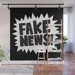 Fake news Wall Mural