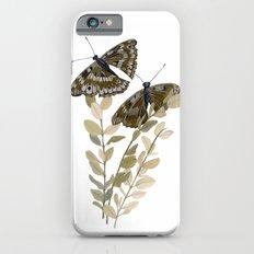 Two Brown Butterflies Slim Case iPhone 6s