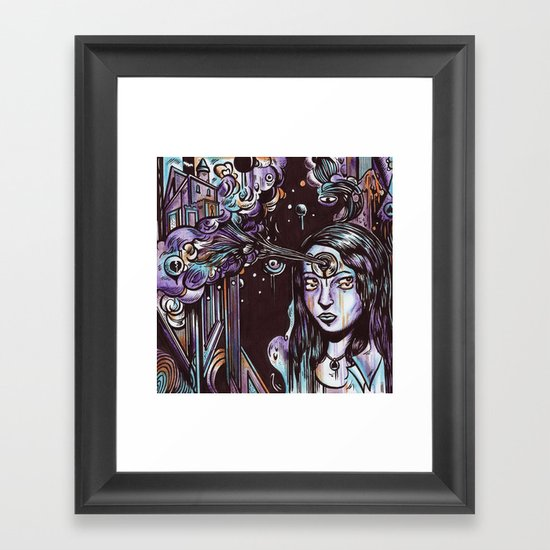 Escapism as a Glorious Defence Mechanism Framed Art Print