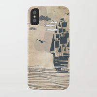ship iPhone & iPod Cases featuring Ship by Emily Rose Scott
