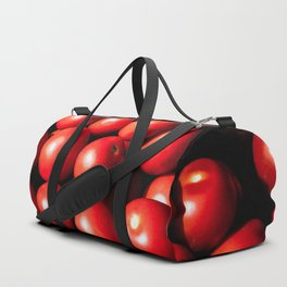 Red Tomato Vegetables Duffle Bag