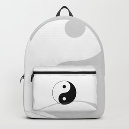 Black and White Yian Yang Backpack