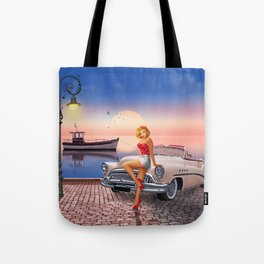 Waiting for the sweetheart Tote Bag