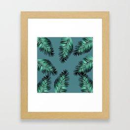 laves palm Framed Art Print