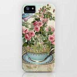Tea Flower #1 iPhone Case
