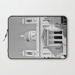 Church in Piraeus BW Laptop Sleeve