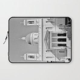 Church in Piraeus BW Laptop Sleeve
