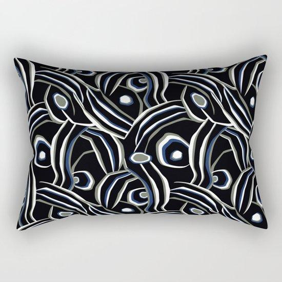 Abstract African pattern. Rectangular Pillow