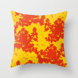Song of nature - Sunset Throw Pillow