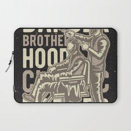 Barber Brotherhood Laptop Sleeve