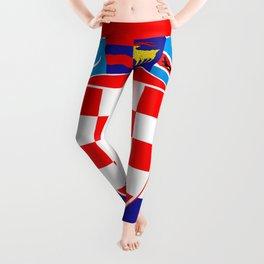 Flag of Croatia Leggings