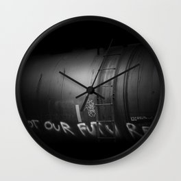 not our future Wall Clock