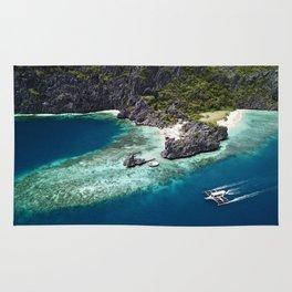 Island hopping around the Philippine Islands Rug