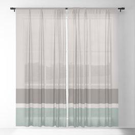 Stripes 5 Sheer Curtain