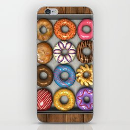 Box of Doughnuts iPhone Skin